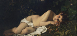Afternoon Dreaming , c. 1865 Hugues Merle