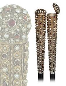 Jeweled Dress Cane