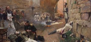 Napoleon Rendant Visite aux Blesses , c. 1890 Paul Emile Boutigny (French, 1854‐1929)