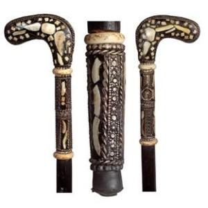 Moroccan Dagger Cane - circa 1935